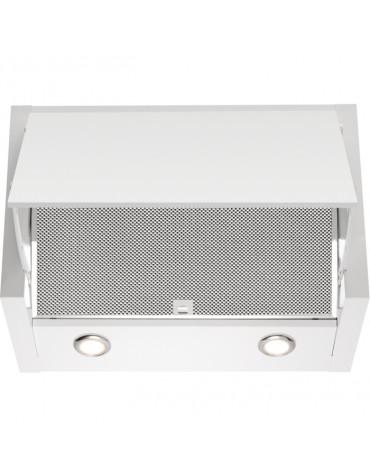 electrolux Hotte escamotable 60cm 69db 650m3/h blanc electrolux