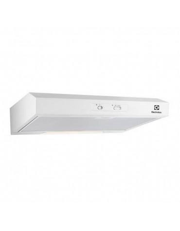 electrolux Hotte visière 60cm 272m3/h blanc electrolux