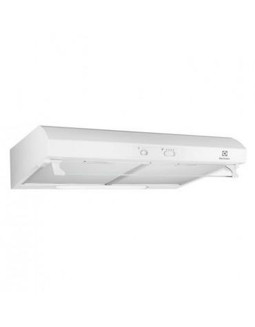 Hotte visière 60cm 65db 272m3/h blanc