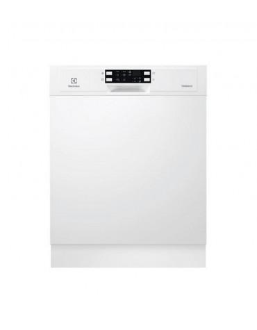 electrolux Lave-vaisselle 60cm 13c 44db a++ intégrable avec bandeau blanc electrolux