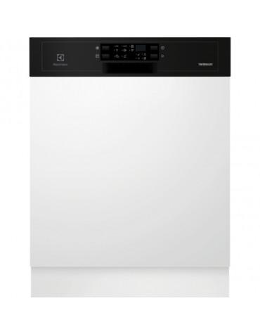 electrolux Lave-vaisselle 60cm 13c 44db a++ intégrable avec bandeau noir electrolux