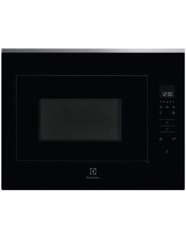 Micro-ondes encastrable 26l 900w noir/inox
