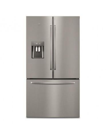 Réfrigérateur américain 91cm 536l a++ nofrost inox