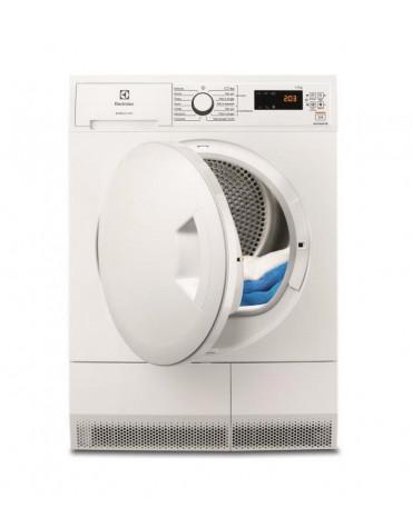 Sèche-linge frontal à condensation 60cm 7kg b blanc
