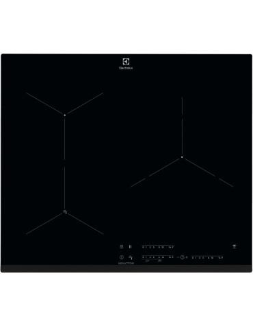 electrolux Table de cuisson à induction 59cm 3 feux 7350w noir electrolux