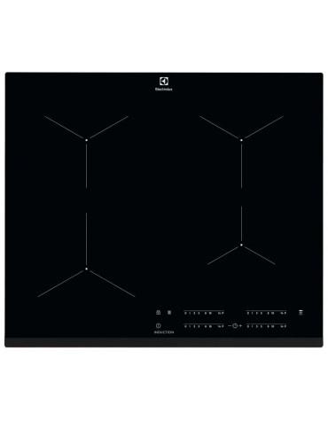 electrolux Table de cuisson induction 59cm 3 feux 7350w noir electrolux