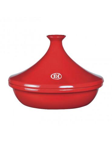 Tajine céramique 32cm rouge grand cru