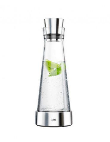 emsa Carafe avec accumulateur de froid 1l verre/inox emsa