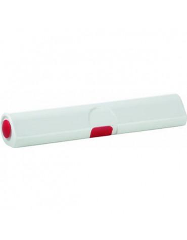emsa Dérouleur coupe film blanc/rouge emsa