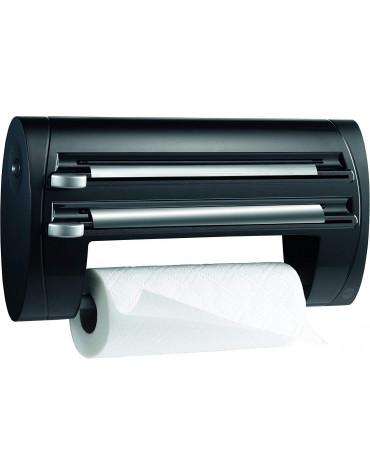 emsa Dérouleur triple coupe-film, papier d'aluminium, essuie-tout emsa