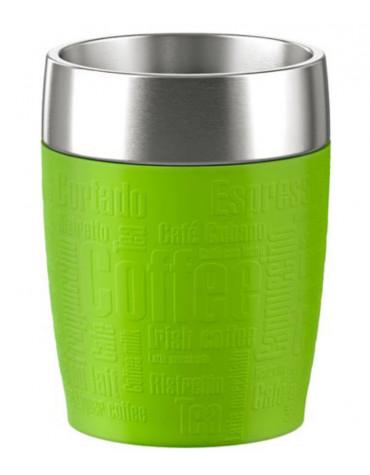 Tasse à café isotherme 20cl citron vert