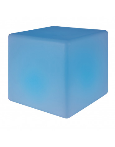 Cube led à couleurs changeantes 40cm