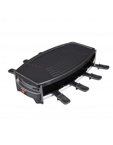 evatronic Appareil à raclette 8 personnes 1000w evatronic