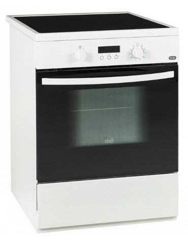 faure Cuisinière induction a 56l 3 feux blanc faure