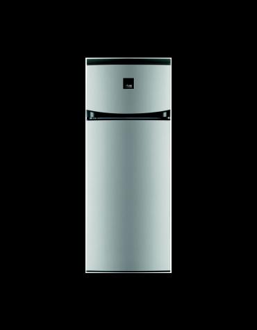 faure Réfrigérateur combiné 55cm 228l a+ inox antitrace faure
