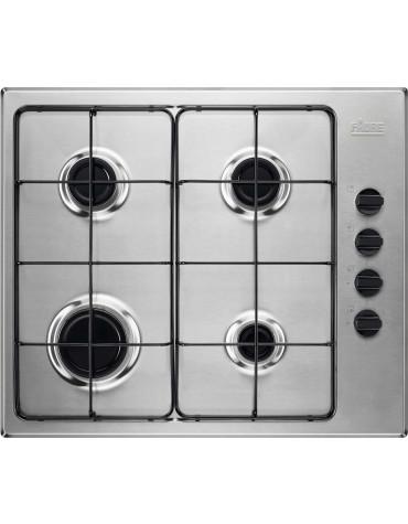 faure Table de cuisson gaz 60cm 4 feux 8000w inox faure