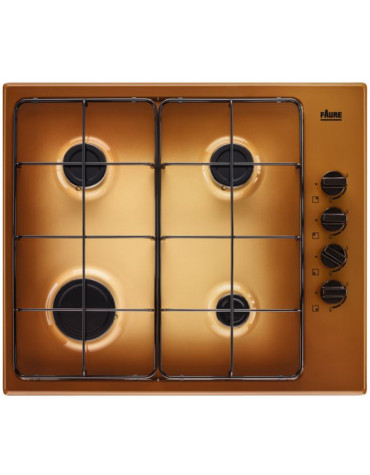 faure Table de cuisson gaz 60cm 4 feux 8000w terre de france faure