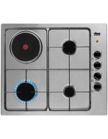 faure Table de cuisson mixte 60cm 4 feux inox faure