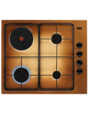 faure Table de cuisson mixte 60cm 4 feux terre de france faure