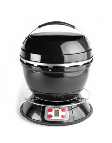 Barbecue charbon portable 32cm noir