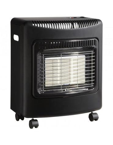 favex Radiateur à gaz infrarouge 4200w noir favex