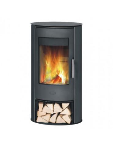 fireplace Poêle à bois 5kw acier noir fireplace