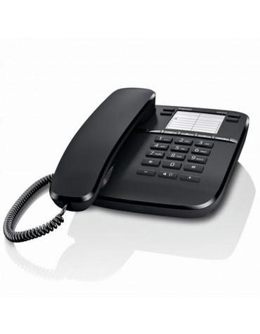 gigaset Téléphone filaire noir gigaset