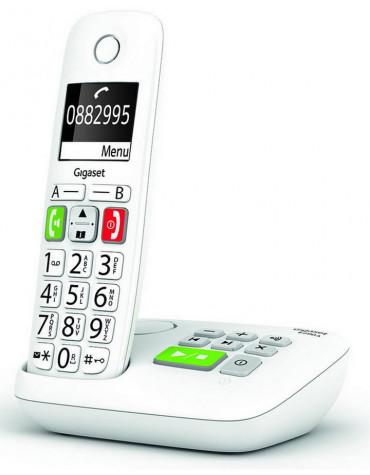 gigaset Téléphone sans fil dect blanc avec répondeur gigaset