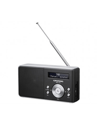 grundig Radio portable noir/silver grundig