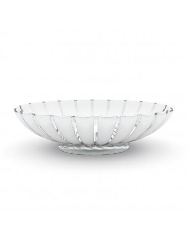 guzzini Corbeille/saladier acrylique 37.5cm blanc guzzini