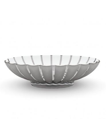 guzzini Corbeille/saladier acrylique 37.5cm gris guzzini