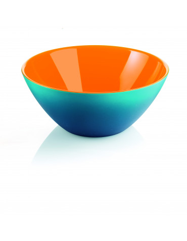 guzzini Saladier 20 cm bleu/orange guzzini
