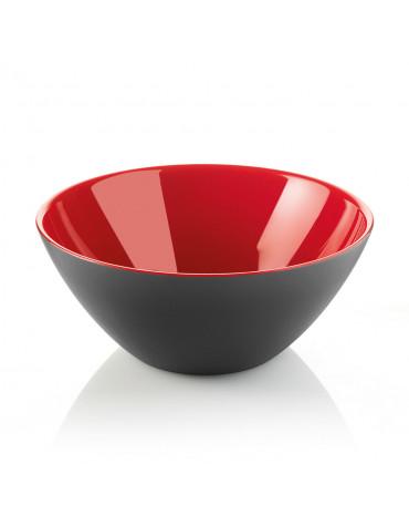 guzzini Saladier 20 cm noir/rouge guzzini