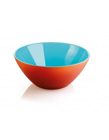 guzzini Saladier 20 cm orange/bleu guzzini