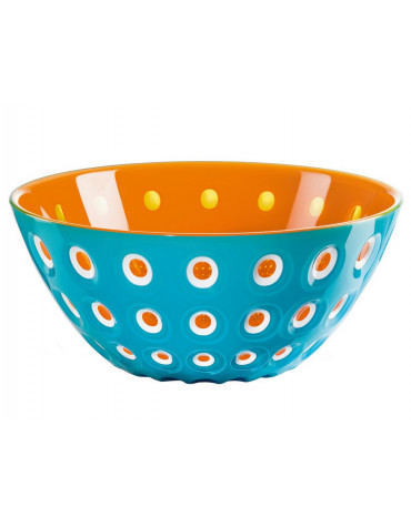 guzzini Saladier 25cm bleu/orange guzzini