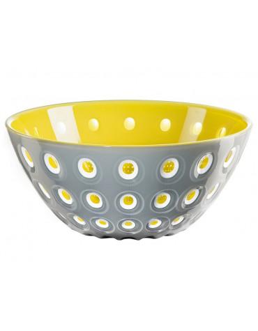 guzzini Saladier 25cm gris/jaune guzzini