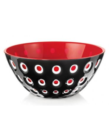 guzzini Saladier 25cm noir & rouge guzzini