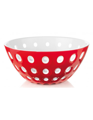 guzzini Saladier 25cm rouge & blanc guzzini