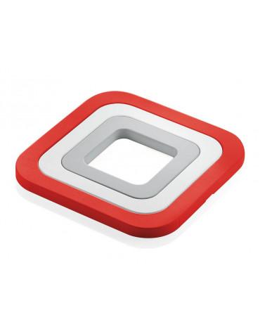 guzzini Set de 3 dessous de plat rouge guzzini
