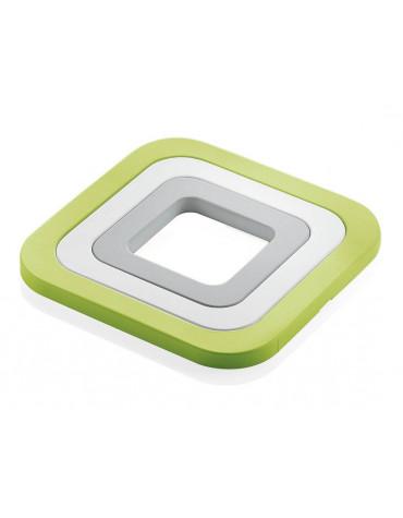 guzzini Set de 3 dessous de plat vert guzzini