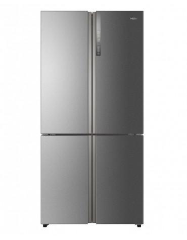 haier Réfrigérateur américain 91cm 610l a++ nofrost inox haier
