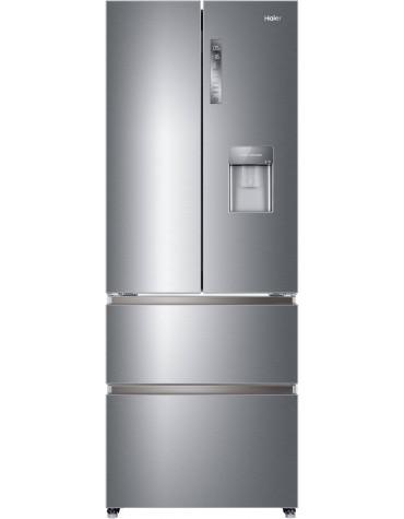 haier Réfrigérateur multi-portes 70cm 422l a+ no frost aluminium haier
