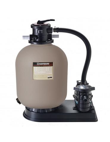 hayward Groupe de filtration 8m3/h avec pompe et filtre à sable hayward
