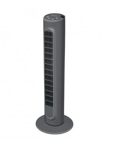 honeywell Ventilateur colonne 80 cm 36w 3 vitesses gris honeywell