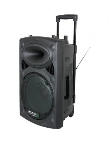ibiza sound Sono portable 350w avec 2 micros sans fil ibiza sound
