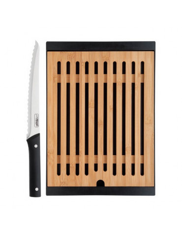 jean dubost Planche à pain bambou + couteau jean dubost