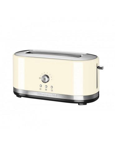 kitchen cc Grille-pain 2 fentes longues 1800w crème kitchen cc
