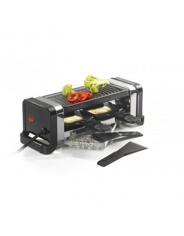 kitchen chef Appareil à raclette 2 personnes 350w noir kitchen chef