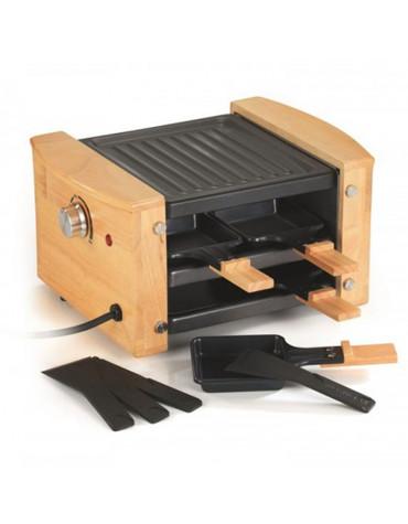Appareil à raclette 4 personnes 650w + grill