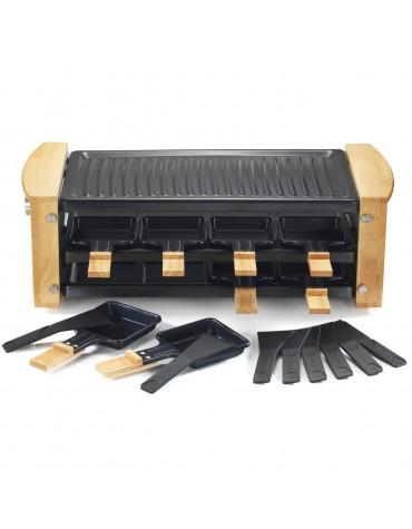 Appareil à raclette 8 personnes 1200w + grill